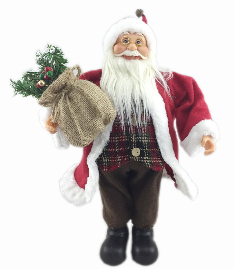Cosette Christmas Santa Claus Wife A Couple for Decoration New Year 18 Inches 45CM