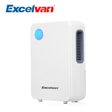 Excelvan EF8886 2L Semiconductor Air Dehumidifier Portable Quiet Air Purify Closet Kitchen Cars With low Consumption For Home(China)