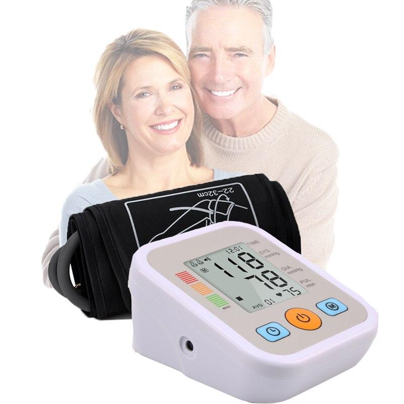 Home Health Care Digital Blood Pressure Monitor Portable Meter Machine sphygmomanometer Tonometer for Measuring Automatic