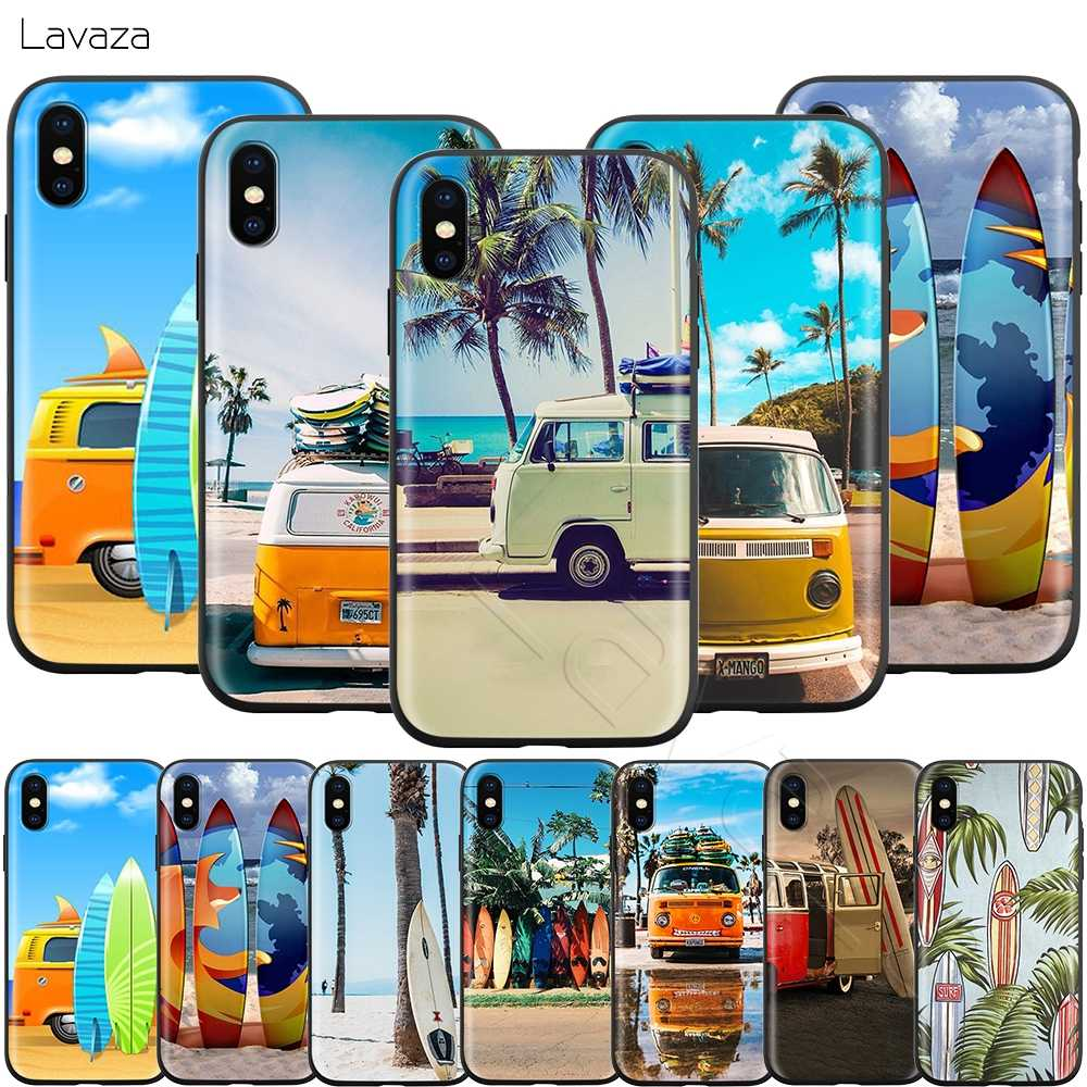 Lavaza Combi Van Surf สำหรับ iPhone 11 Pro XS Max XR X 8 7 6 6S Plus 5 5s se