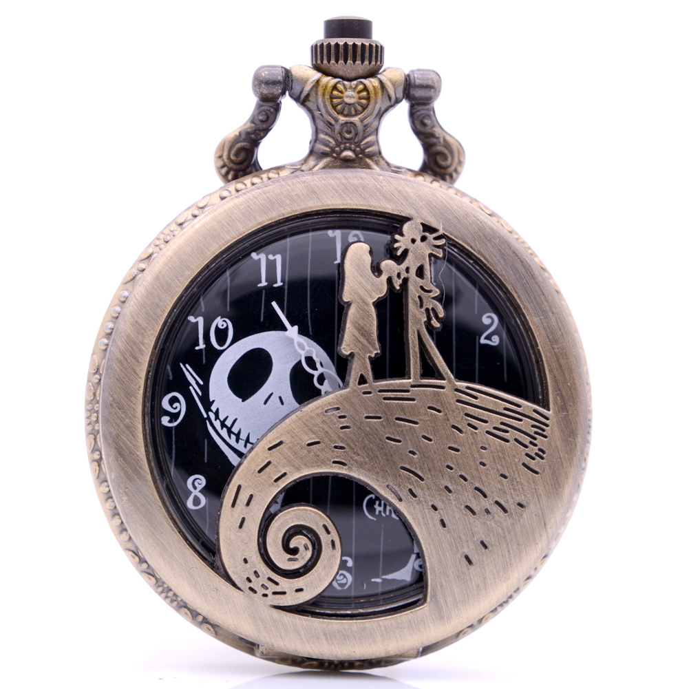 2018 The Nightmare Before Christmas Sally Jack Quartz Pocket Watch ...