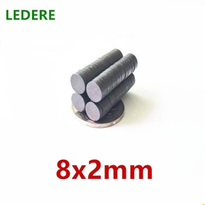 10/50/100/500pcs /lot Y30 Disk Ferrite Magnet Permanent magnet Black Round Speakerceramic magnet