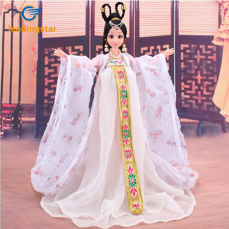 купить LeadingStar Traditional Chinese Classical Style Barbie Doll Costume Chinese Ancient Mythological Clothes Girl's Favorite Clothe недорого