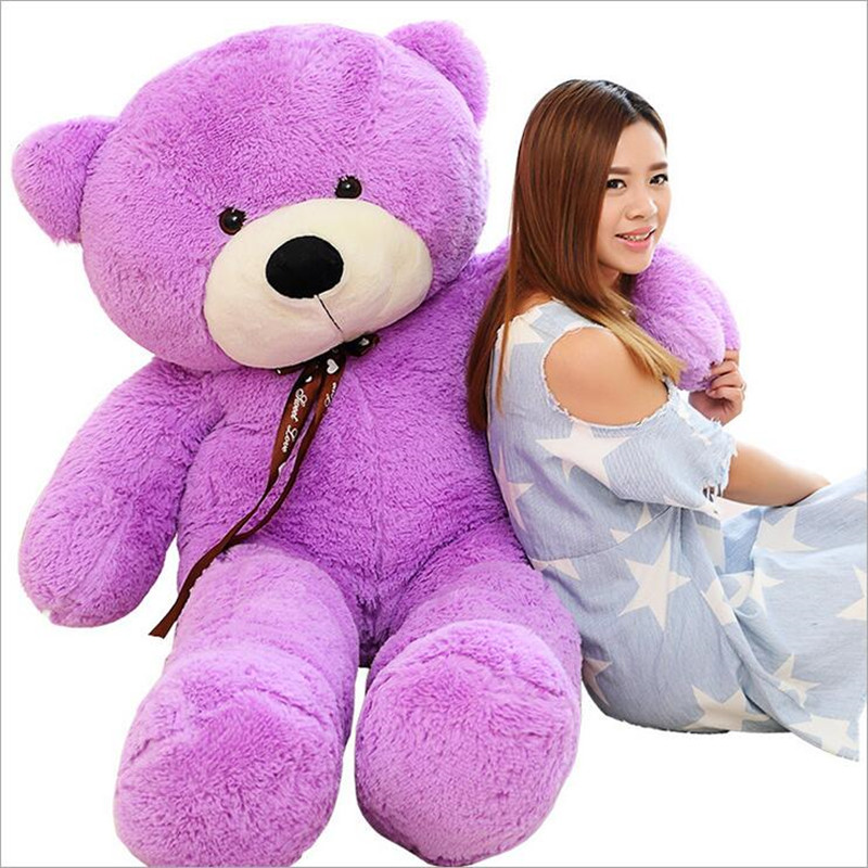 Free Shipping Giant 160CM Big Size Teddy Bear Soft Plush Kids Toys Large Stuffed Kid Baby Toys Doll Girl Christmas Gift Juguetes free shipping l wedding gift lovers doll decoration extra large doll juguetes de los cabritos