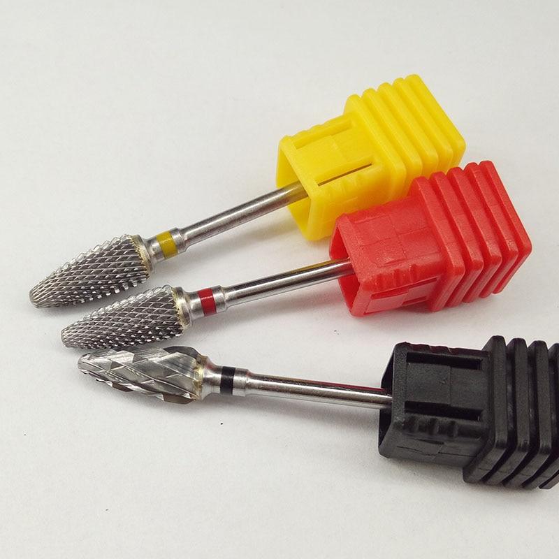 Hot 51mm Design 6.0 Flamme Bit Form Carbide Nail Drill Bit Elektrisk - Negle kunst - Foto 2