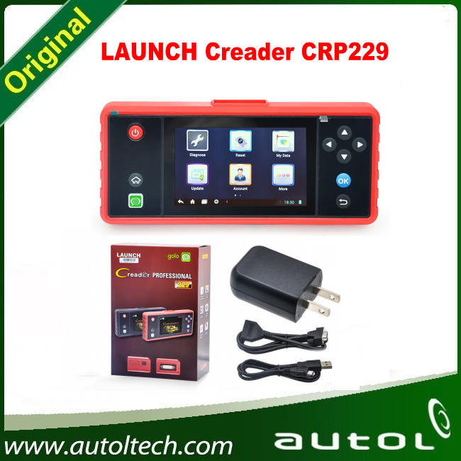 Launch X431 Creader CRP229 Professional CRP 229 Code Reader One-click Online Upgrade by WIFI