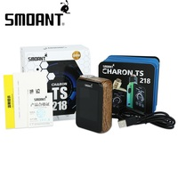 Original 218W Smoant Charon TS Touch Screen TC Box MOD Max 218W Output With Huge Touch