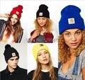 Специальное Предложение Прямых Продаж Solid Gorros Шляпы Для Моды Шапочка И Зимние Шапки Мальчик и Девочка Skullies Хип-Хоп Шапки