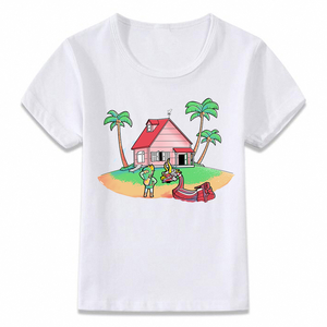 Kids Kame House Children t-Shirt Toddler Shirts Dragon Girls Boys Zelda Link Ball