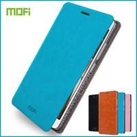 Original Mofi For Lenovo Vibe P1M Case Hight Quality Flip Leather Stand Case Phone Bag For