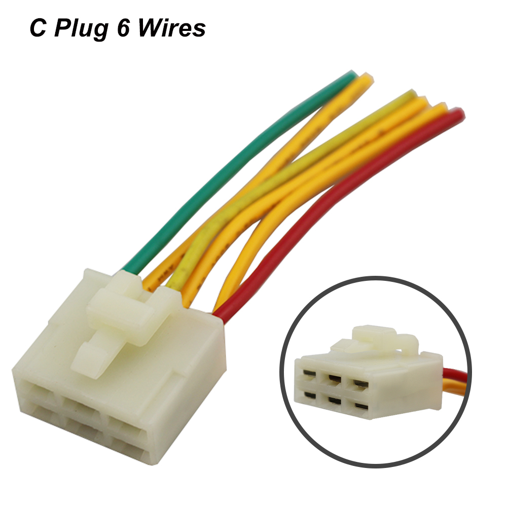 5 Wires 6 Wires Motorcycle Regulator Rectifier Plug Voltage ...