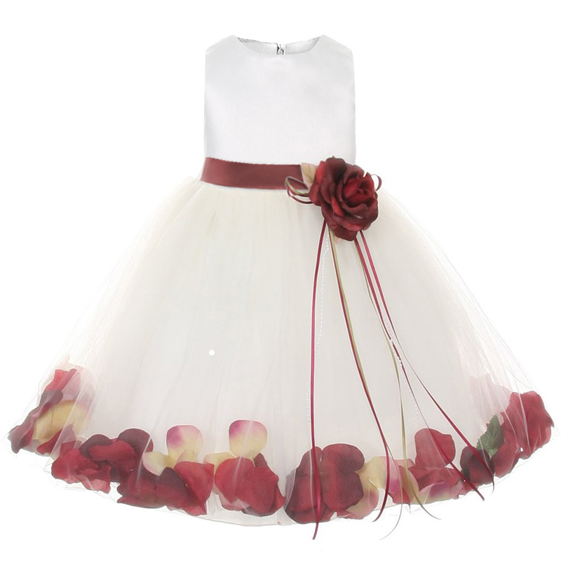 The gallery for Baby Flower Girl Dresses 12 Months