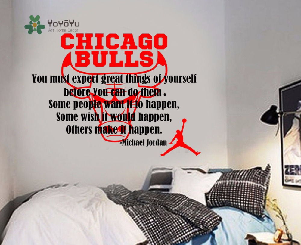 Online shop yoyoyu decal michael jordan quote basketball wall online shop yoyoyu decal michael jordan quote basketball wall sticker sports chicago bulls play basketball boy home decoration poster y021 aliexpress amipublicfo Choice Image