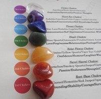 Чакра целебные кристаллы-7 целебных кристаллов-Рейки Исцеление, медитация