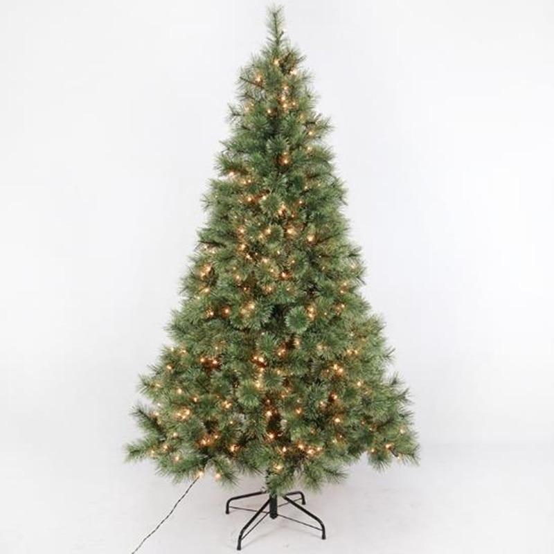 Christmas Tree Needles: 1.2 M 2.4 M Flower Pine Needles Glow Christmas Tree