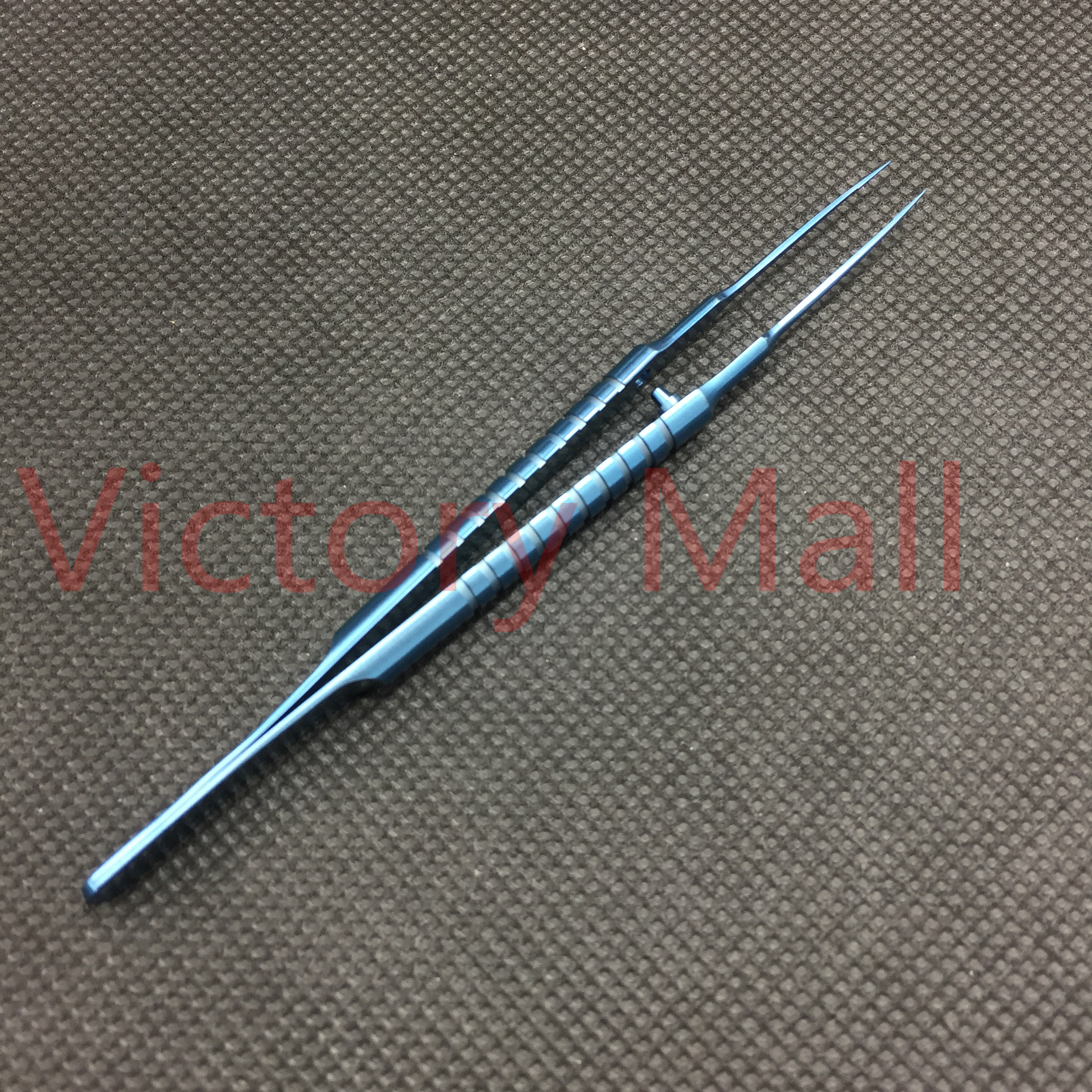 110mm Straight Tying Forcep with 6mm tying platform Titanium ophthalmic surgical instruments Tool110mm Straight Tying Forcep with 6mm tying platform Titanium ophthalmic surgical instruments Tool