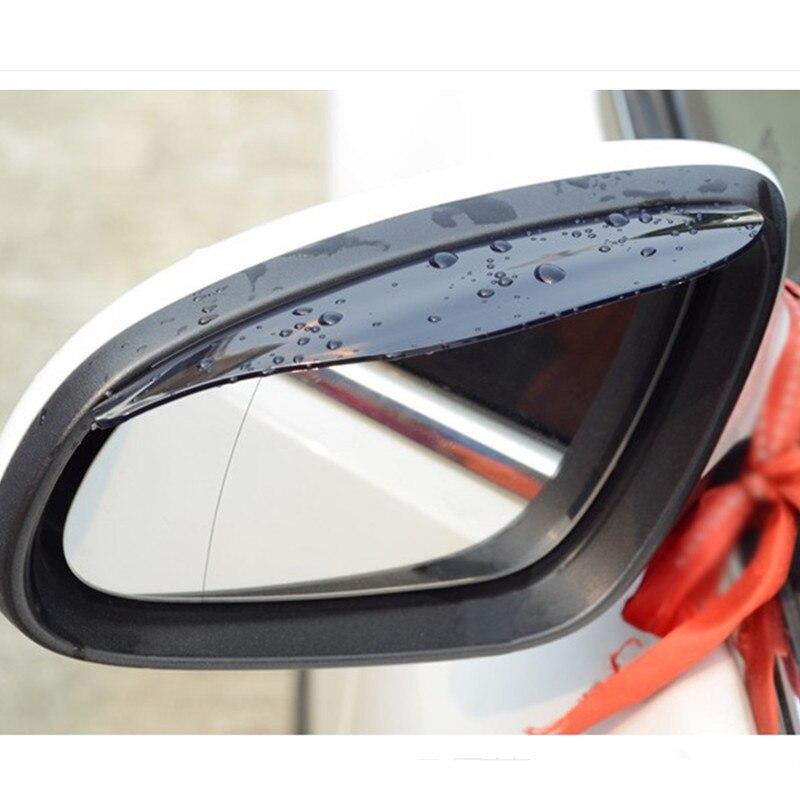 2pcs Car Rearview Mirror Rain Eyebrow Stickers Accessories For Honda