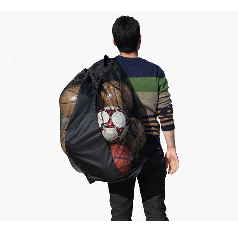 MAICCA Balls bag, basketbol futbolu üçün super böyük, top - Komanda idman növləri - Fotoqrafiya 6