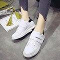 Весна и осень обувь досуг обувь все-матч Корейский летние женские толстым дном цвет студент обувь белые туфли