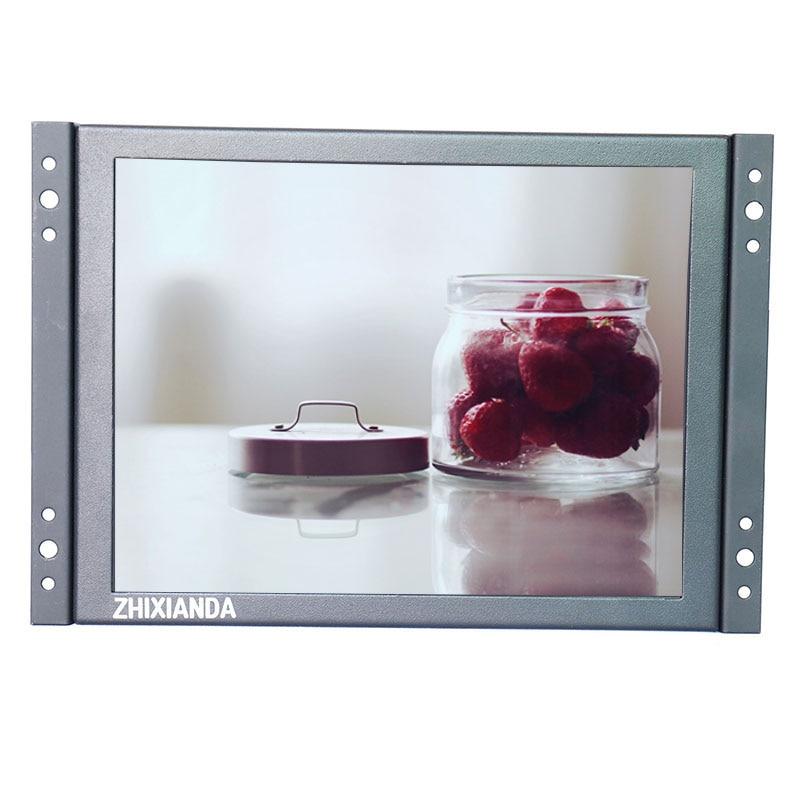 все цены на ZHIXIANDA KF12 12 inch open frame industrial metal shell lcd monitor 1024*768 standard resolution онлайн
