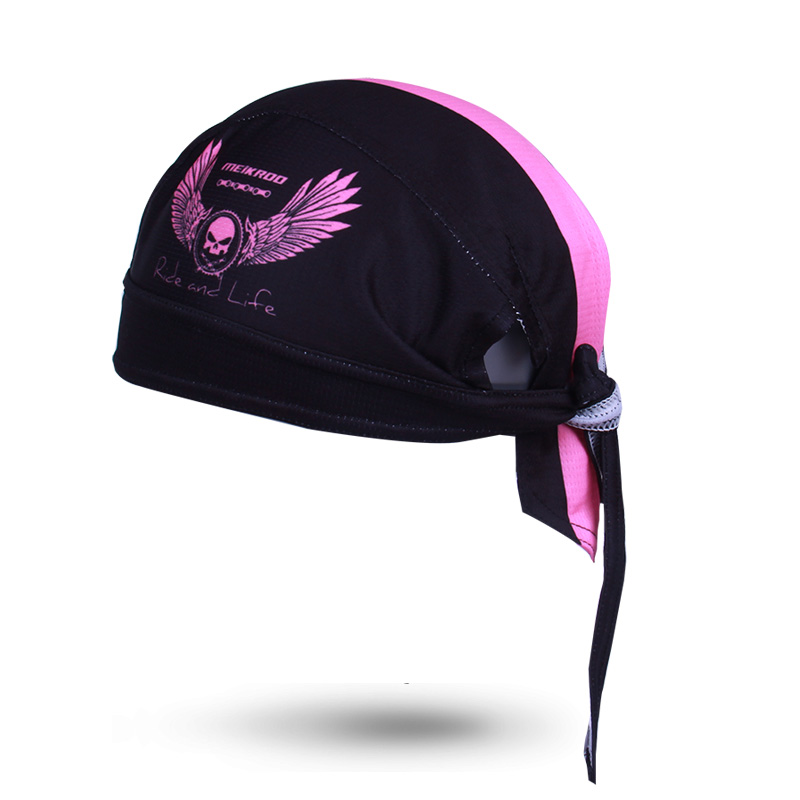 Bike Hat Flexible Cycling Helmet Cap Women Men Bicycle bandana pirates scarf MTB Team Headband Headwear Skull 2018