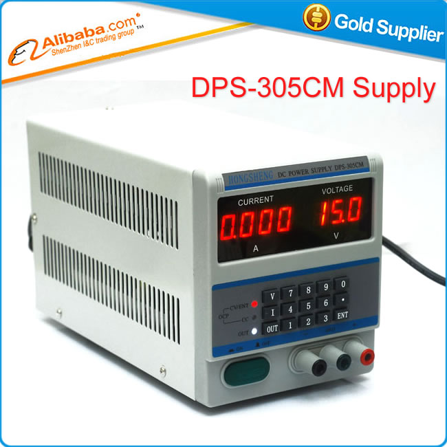 все цены на Power Supply 4Ps Diaplay DPS-305CM Adjustable LED DC Power Supply 30V 5A 0.001A Accuracy Locking & Storage Functions онлайн