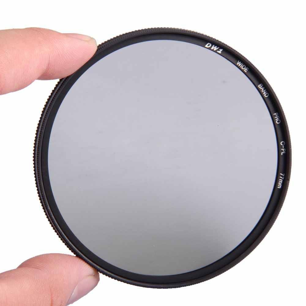 ZOMEI AGC Optical Kaca PRO CPL Polarizing Circular Polarizer Filter Lensa Kamera 52/55/58/62/67/72/77/82mm Untuk DSLR SLR