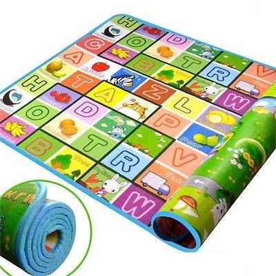 font b Baby b font Kid Toddler Crawl Foam Soft Play Game Mat Carpet Carpet