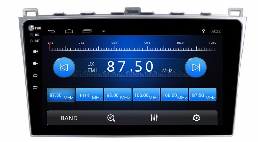 Flash Deal 1G Ram Android 6.01 Car Audio for Mazda6 Mazda 6 2010  Headunit Stereo Vedio GPS Navi Multimedia Radio PC Monitor 4G 2