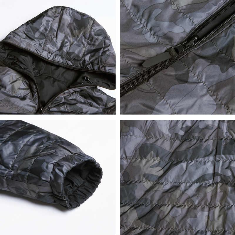 Icebear 2019 nova jaqueta masculina em outono de dupla utilização masculina quente casaco de alta qualidade roupas masculinas casuais mwc19686i