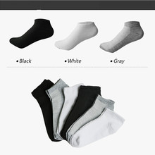 3pairs=6Pcs Summer Thin Boat Socks Women Solid White Gray Black Ankle Meias Female Shallow Mouth Short Sock Calcetines