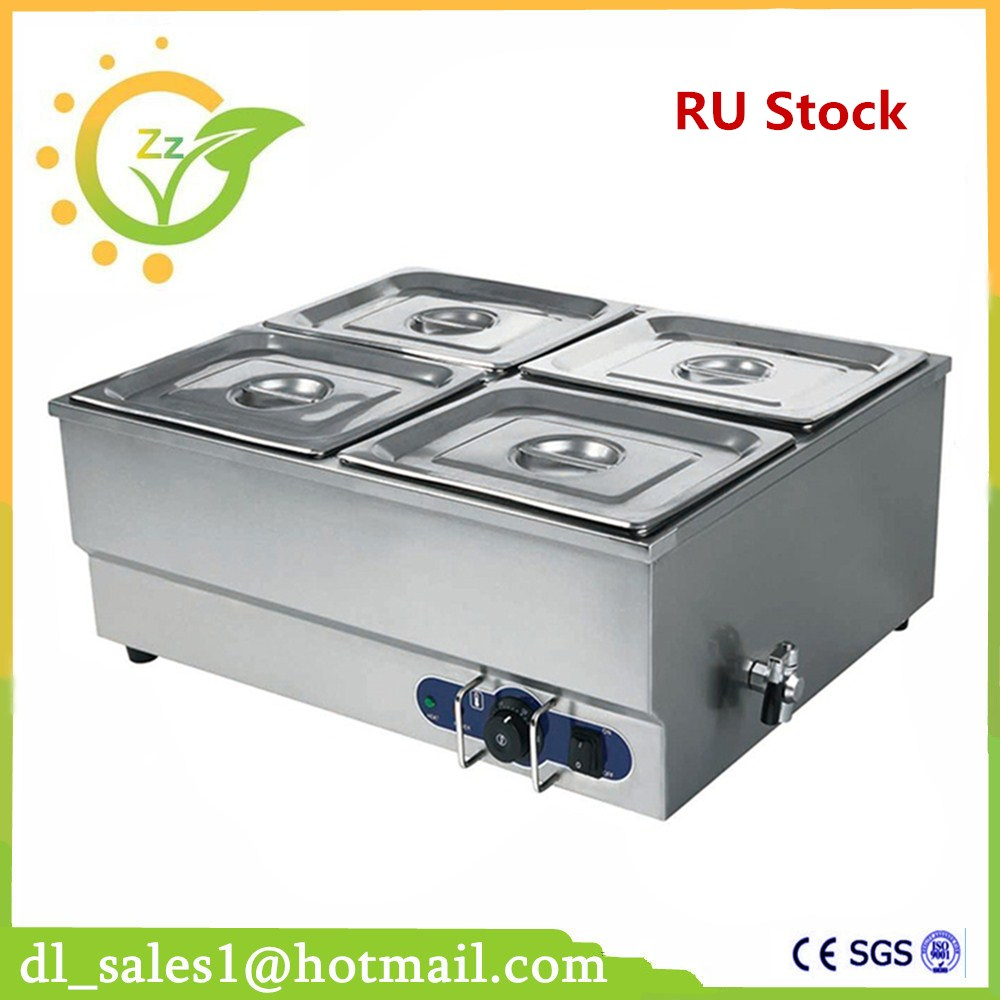 Best Sale 1.5KW professional Food warmer factory wholesale kitchen equipment electric deep bain marie