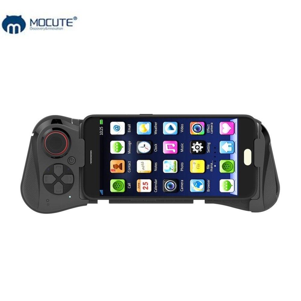 Mocute 058 Senza Fili del Gioco pad Bluetooth Android Joystick VR Telescopica Controller di Gioco Gamepad Per iPhone PUBG Mobile Joypad