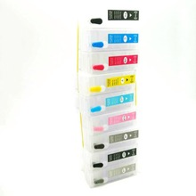 T7601T7609 Refillable ink cartridges for Epson P600 surecolor Surecolor SC-P600 printer with auto reset chips