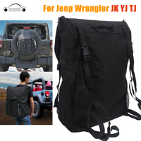 Tool Organizers Trunk Cargo Bags Spare Tire Storage Bag For Jeep Wrangler JK TJ YJ Luggage Multi Pockets Backpack KOLEROADER //