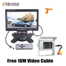Reversing-Camera Lcd-Monitor Motorhome Truck Parking-Backup Car-Rear-View-Kit Night-Vision