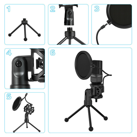 Yanmai SF777 USB Condenser Microphone Kit Podcast Studio Microfone Plug and Play Streaming Mic for PC Laptop YouTube Gaming Islamabad