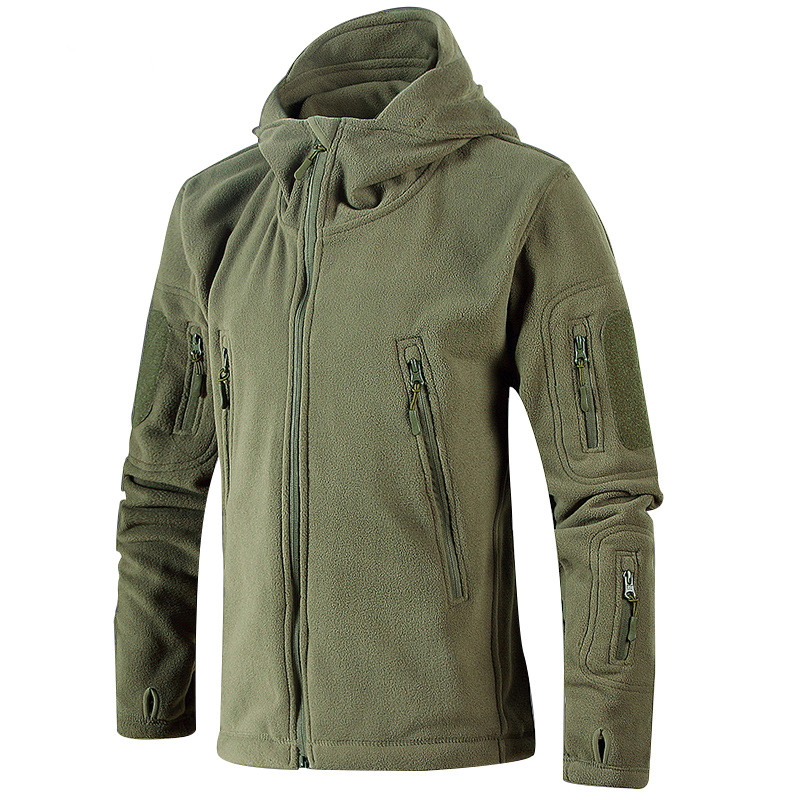 Winter Warm Outerwear Casual Hoodie Coat Jacket Military