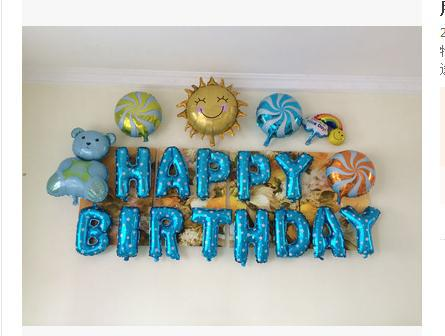 Childrens birthday balloon packages baby Balloon Party layout