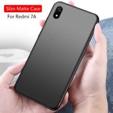 Xiaomi Redmi 7A Case For 7 Pro Matte Silicone Soft Tpu Back Cover Redmi7 A 7pro Phone