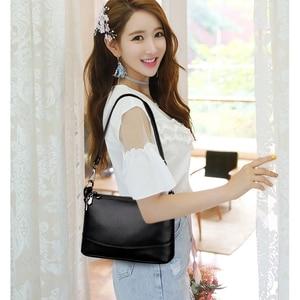 Image 3 - 2020 Women Messenger Bags Small Crossbody Bags For Women Leather Shoulder Bag Female Handbags High Quality Vintage Shell Bag New