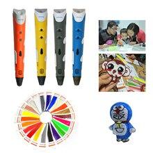 DEWANG Завод Дешевые 3D Принтер С 220 М 22 Цвет ABS Накаливания Для Рисования Детские Игрушки Магия 3D Пера