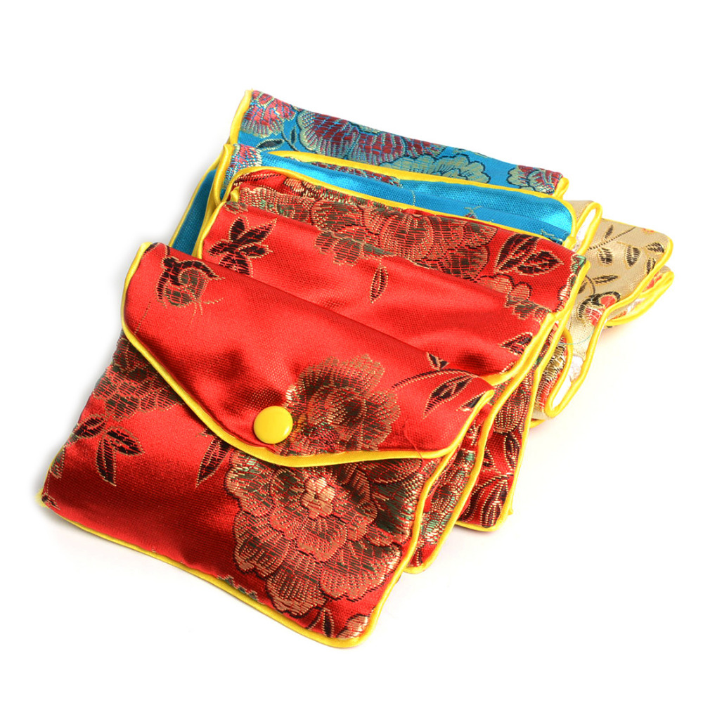 854e32e44b4b US $13.03 |24Pcs 8*6.5Cm Mixed Color Jewelry Packaging Silk Purse Coin  Pouch Bag Christmas Wedding Party Gift Bags & Pouches-in Jewelry Packaging  & ...