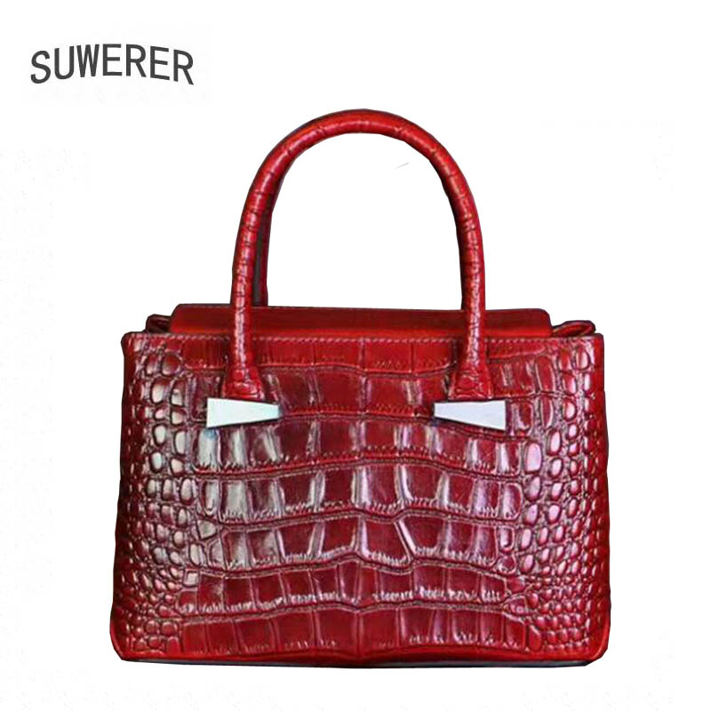 2018 Special Offer Alligator Polyester Zipper Soft New Genuine Leather Women Handbags Luxury Bags Designer Bag Casual Tote 2017 special offer direct selling interior compartment genuine leather women shoulder bags hasp two solid soft tote solid bag