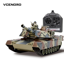 40CM Camouflage RC Tank Model Electric Remote Control Tank Toys For Children Boys Birthday Gifts Learning
