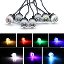 8Pcs DC 12V Outdoor LED Garden Lawn Light 3W Landscape Lamp Swimming Pool Pond Waterproof Path Bulb Spot Lights