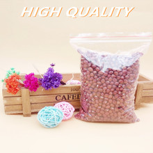 100pcs/lot food Zip lock Reclosable Plastic Poly Clear Bags Vacuum Bag
