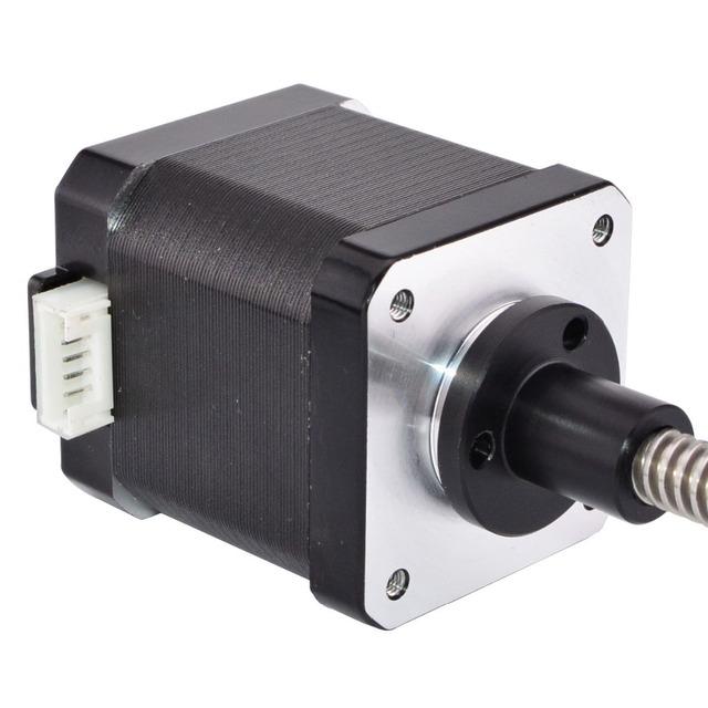 Nema 17 External Linear Stepper Motor 48mm Stack 1.68A Lead 8mm/0.31496″ Lead Screw Length 200mm
