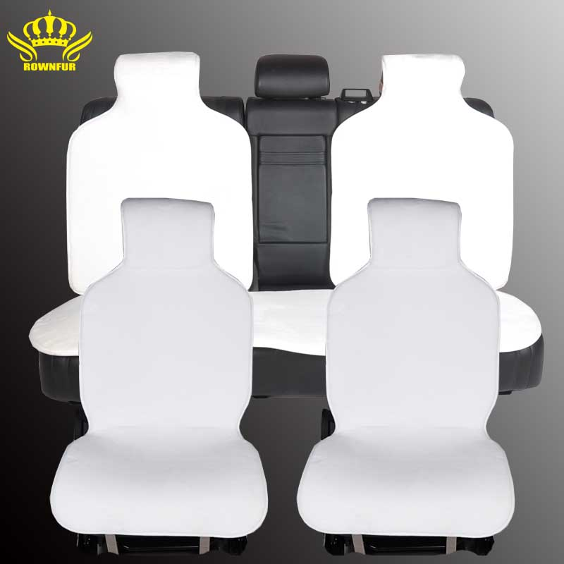 Fur Capes On The Seat Of Cars Covers For Car All Seats Set 5 Pcs Color Yellow Faux Warm Heated 2016 Sales I014 In Automobiles