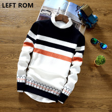 LEFT ROM 2017 spring men sweater fashion slim casual cotton bottoming Business affairs printing Fringe sleeve Comfortable jacket
